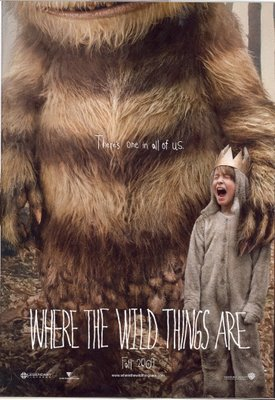wild things are movie poster