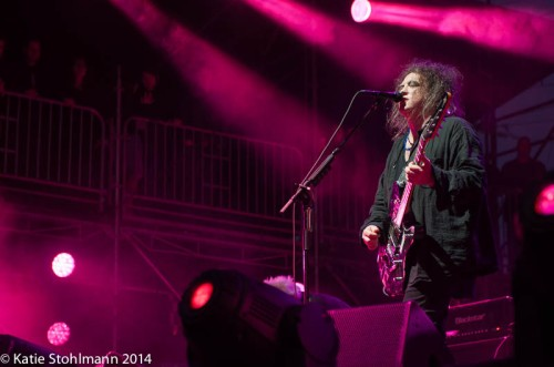 The Cure at BottleRock 2014.