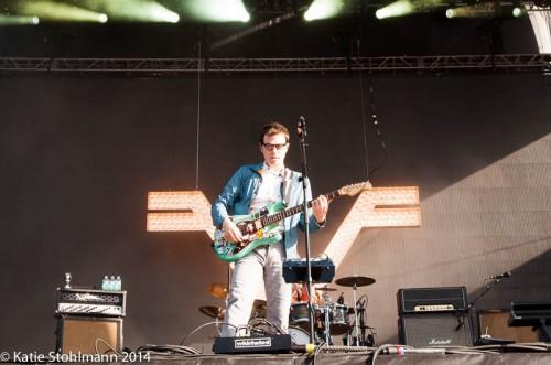 Weezer plays BottleRock 2014.