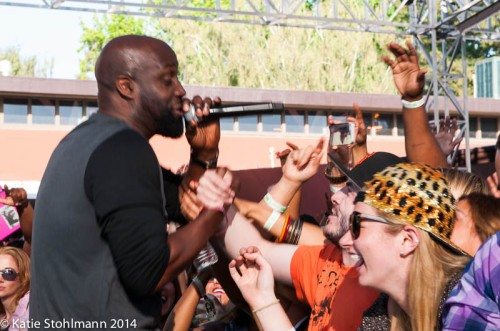 De La Soul connects with the crowd at BottleRock 2014.