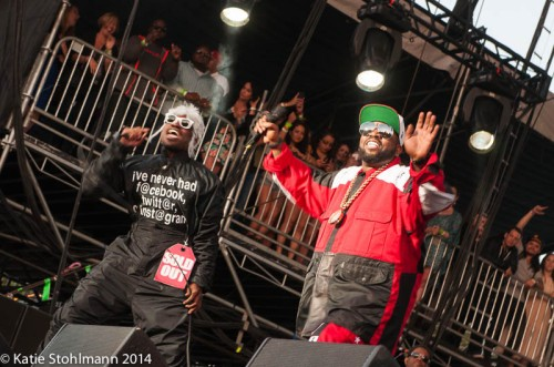 OutKast at BottleRock 2014.